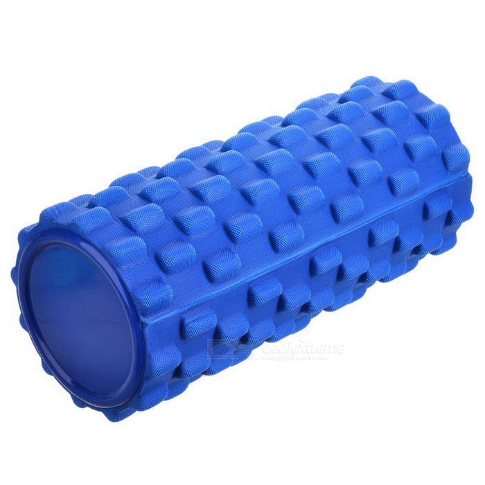 Self Massage Yoga Pilates Exercise Foam Roller - Azul
