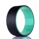 Yoga Pilates Roll Bending Auxiliary Wheel Ring Hoop - Black + Blue