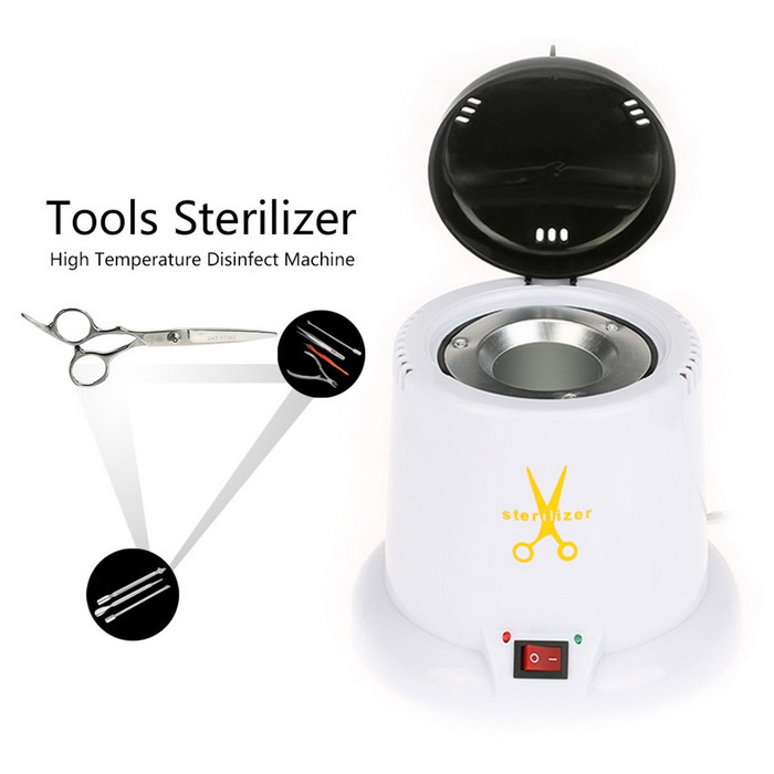 Nail salon tools tattoo sterilization machine for 3 methods of sterilization in the salon