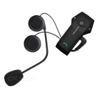 Remote Control BT Headset Intercom Motorcycle Interphone (EU Plug)