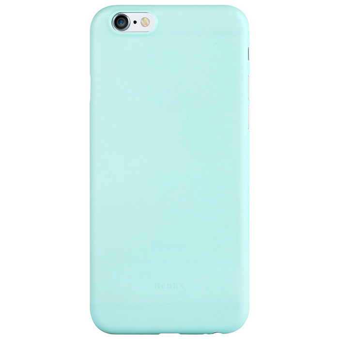 Benks 0,4mm ultra fino PP caso trasero para el iPhone 6 / 6s - Lake Blue