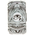 SZKINSTON Eye of Sun God PU Leather Case for Samsung Galaxy S6 Edge