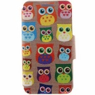 SZKINSTON Cute Owls Pattern PU Leather Case for Samsung Galaxy S6