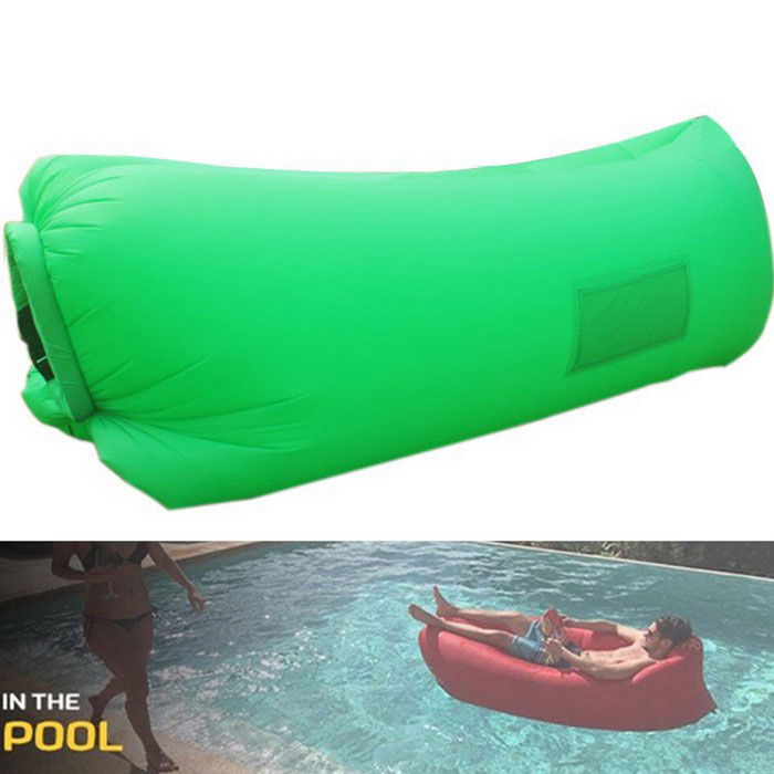 Portable Waterproof Inflatable Sofa Sleeping Bag For Family Car Camping Travel