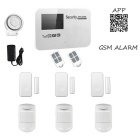 GSM Wireless Smart Alarm Systems - White (US Plug)