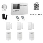 GSM Wireless Smart Alarm Systems - White (AU Plug)