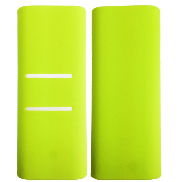 Silicone Protective Cover for Xiaomi 16000mAh Power Bank - Green