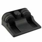 ZIQIAO Car Seat Cup Drink Holder Cup Storage Box Holder - Black
