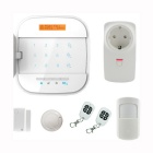 AG-security Wi-Fi Internet APP Remote Control GSM Home Alarm System