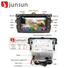 "Junsun 8"" Android 4.4 Car DVD Radio Player w/ 1GB RAM, 16GB ROM- Black"