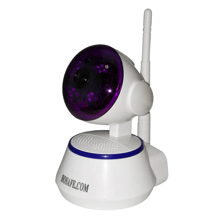 HOSAFE.COM SV04 720P Wireless Pan / Tilt IP Kamera - Weiß (EU Stecker)