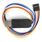 CH340G USB to Serial Adapter Module for Arduino Pro Mini - Black+White