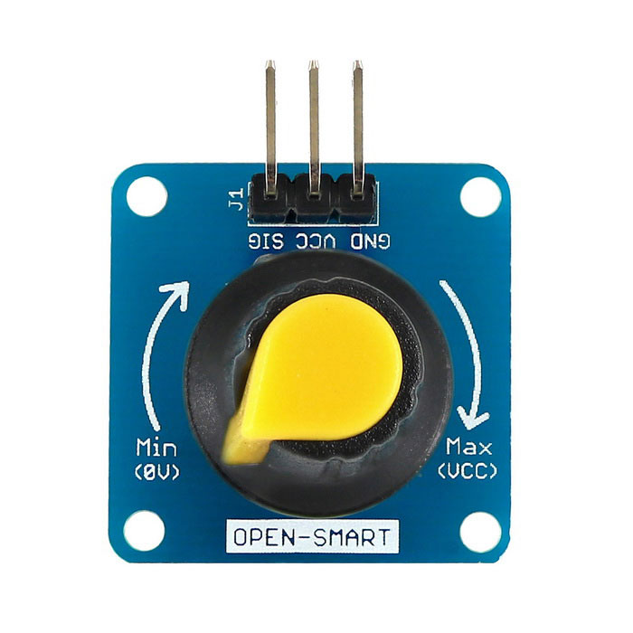 Rotary Angle Sensor Module Light / Volume Control for Arduino - Yellow