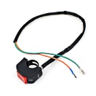 2.2~2.5cm Diameter Motorcycle Headlight Fog Light Modification Switch