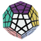 Professional 12-Color Magic IQ Cube - Black + White + Multicolor