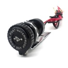 WUPP Motorcycle 12V to 5V Phone Charger Aluminum USB Car Charger