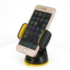 Remax RM-C06 360' Rotating Stand for Cellphone / GPS - Black + Yellow