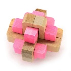 Maikou MK505 Unlock Puzzle Toy Beech Three-dimensional Jigsaw