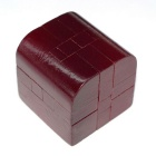 MAIKOU MK516 Box Shape Untied Puzzles Toy - Dark Red