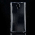 Polka Dot Pattern Protective TPU Back Case for Xiaomi M4 - Transparent