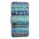 SZKINSTON Green Totems PU Leather Case for Samsung Galaxy Note 5