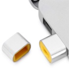 MAIKOU T18 USB 2.0 Micro SD Card Reader - Silver + Yellow