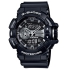 Guarda Casio G-crollo GA-400GB-1A-nero e argento