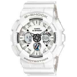 Casio G-Shock GA-120A-7A Mens Watch - White