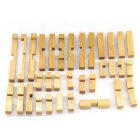 Maikou MK529 Unlock Puzzle Toy Wooden Three-dimensional Jigsaw -Yellow