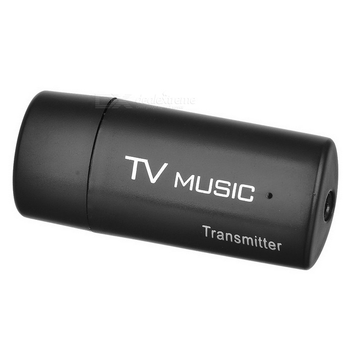 USB-driven Bluetooth V2.0 Music Audio Transmitter - Svart