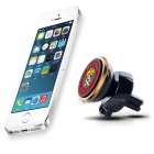 Hat-Prince 360 Degree Rotatable Car Air Vent Phone Mount Holder - Gold