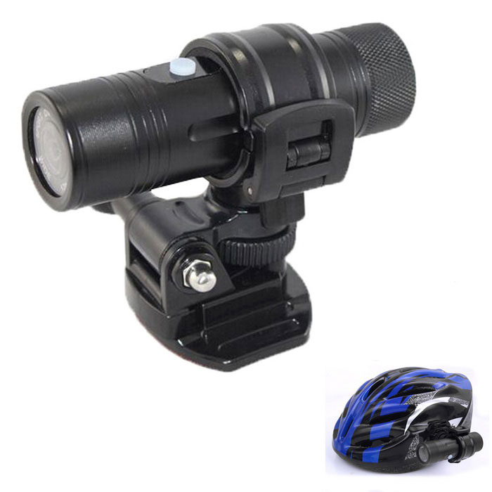 MC29 impermeável Sport Outdoor HD 1080p Helmet Camera Filmadora Mini DV