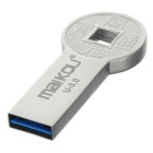 Maikou MK0086 Ancient Coin USB 3.0 Fash Drive 32GB - Silver