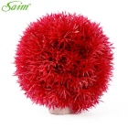 Saim Decoration Spherical Shaped Aquarium Plants - Red