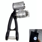 60X Optical Zoom Mobile Phone Microscope Lens Magnifying Camera -Black