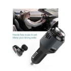 3-in-1 Multi-function Car Charger + Wireless Earplugs + Air Purifier