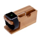 2 in 1 Watch Phone Charging Rack - Brownish Yellow