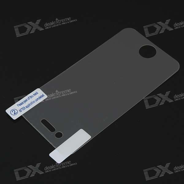 Matte Screen Protector with Cleaning Cloth for Iphone 4 - Transparent
