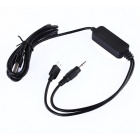 FM185 In-Car Hands-Free FM Transmitter Radio Adapter for Car - Black