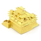 3D Stereo DIY Assembly Model of the Himeji Castle - Gold