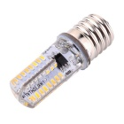 YWXLight E17 64-3014 SMD LED regulable de silicona de la bombilla del blanco cálido