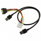 USB 3.0 PCI-E 1X a 16X Riser Adapter Extender Cable Cable