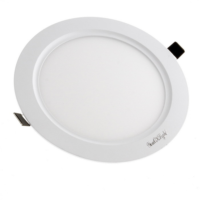 YouOKLight 5W 25-SMD Cold White Light LED Round Panel Light Lamp