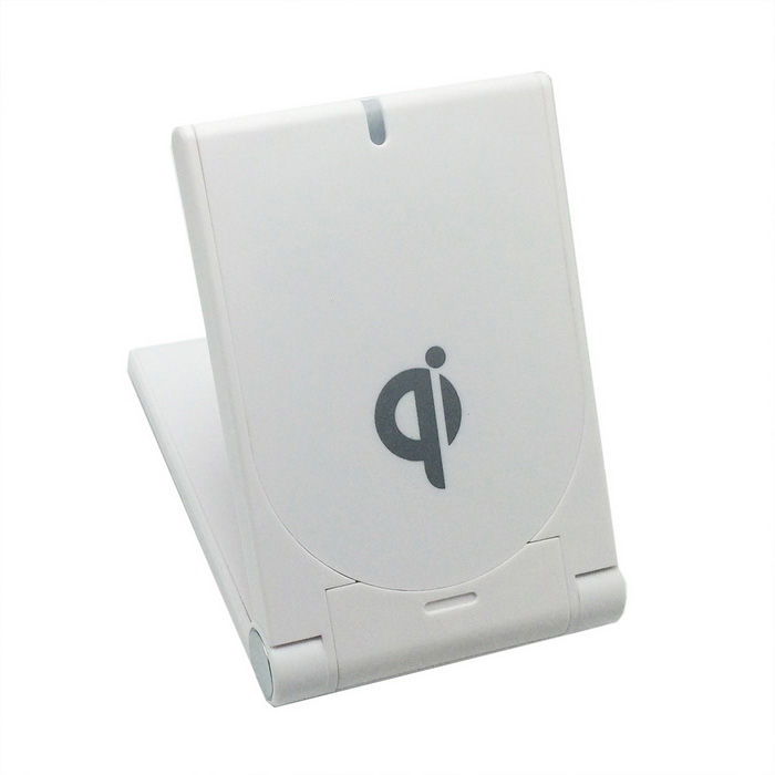 Q11 QI Wireless Charger Pad w/ Support for Smart Phone - White