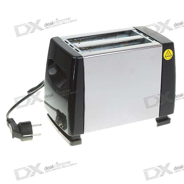 Stainless Steel Toaster (750W)