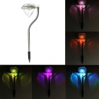 YouOKLight 4PCS Diamond Solar LED Väri muuttaminen Lawn Garden Valot