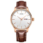 BUREI 700704 Men's Fashion Quartz Analog Wrist Watch w/ Calendar