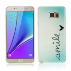 SZKINSTON TPU Protective Case for Samsung Galaxy Note 5 - Blue