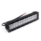 120W 10200lm Dual Row 24-OSRAM LED 5D Optical Lens Light Bar w/ Stand