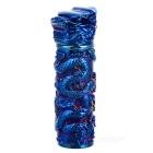 3D Dragon Column Pattern USB Li-ion Battery Rechargeable Lighter
